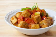 Luke Nguyen's Crisp Tofu in Tomato Pepper Sauce - Christine's Recipes: Easy Chinese Recipes | Easy Recipes