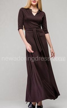 US$70.20-Modest  Modern Maxi Mother of the Groom Dress. http://www.newadoringdress.com/knotch-modern-maxi-jersey-dress-with-bow-pET_329268.html. Tailor Made mother of the groom dresss/ mother of the brides dress at #NewAdoringress. We offer a amazing collection of 800+ Mother of the Bride dresses so you can look your best on your daughter's or son's special day. Low Prices, Free Shipping. #motherdresss