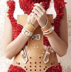 Marina Hoermanseder Turns 18th-Century Orthopedic Medical Gear into High Fashion.