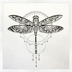 dragonfly mandala - Google Search
