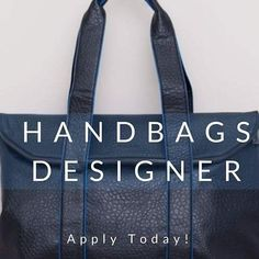 Handbags are one of the most important pieces when it comes to #Womenswear #Fashion. That's why our client is looking for its next Handbag #Designer to bring a creative #streetwear collection to life. www.gm-talentmanagement.com #fashionjobs #luxury #career #careergoals #goals #outerwear #jobs #recruitment #instafashion #fashioncareer #sendyourcv