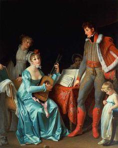 Marguerite Gérard (1761–1837)  La Duchesse Abrantes et le General Junot