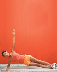 Boost your metabolism and build your core muscles with this move: side plank with twist, Wholeliving.com