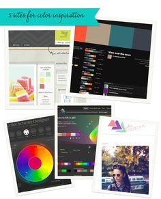 5 Great Color Inspiration Sites