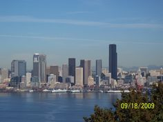 Seattle, Washington - just look at the skyline! Staying with friends, having use of a car and GPS made this trip - most pleasurable~