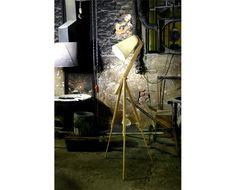 Art Light by Laurie Wiid van Heerden. Tripod Lamp, Light Art, Home Lighting, Lightning, Van, Light Design, Gallery, Inspiration, House