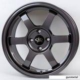 17x7.5 Rota Grid - Gunmetal (5x100/E48/56.1) Wheeldude.com - Professional wheel dealer.