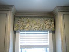 DIY Window Cornice