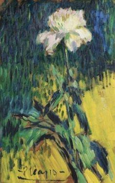 Pablo Picasso - Pivoine, 1901