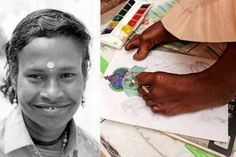 Once A Beggar On The Streets Of Rishikesh, This Differently-Abled Woman Is Now Winning Hearts With Her Art
