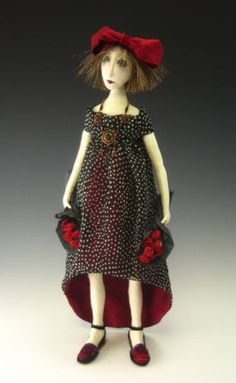 Art Doll by Cindee Moyer