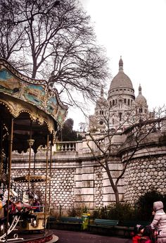 Sacré Cœur, Montmartre. One of my favorite spots in Paris