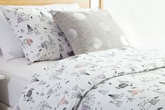 109nzd Hopkins Duvet Cover Set by Creative Colours | Harvey Norman New Zealand