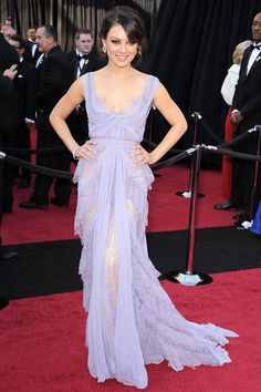 Love her, love the dress.  Probably one of my favorite dresses of all time from an awards event!  So sweet and gorgeous.