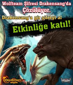 Wolfteam Şifresi Drakensang'da Çözülüyor!