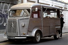 If it wasn't against the law or my religion, I would kill for this...Citroen H (perhaps a wee flesh wound?)