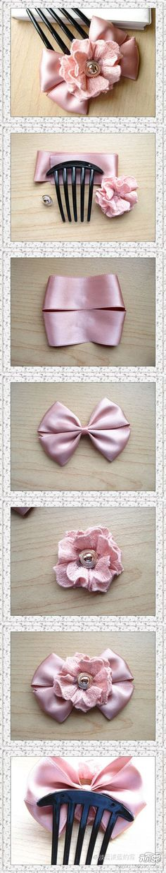 Diy Hair Bow diy crafts home made easy crafts craft idea crafts ideas diy ideas diy crafts diy idea do it yourself diy projects diy craft handmade craft accessories-kokardki Diy Hair Bows, Diy Bow, Diy Ribbon, Ribbon Crafts, Ribbon Bows, Diy Crafts, Ribbons, Ribbon Flower, Ribbon Hair