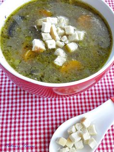 ... Soup on Pinterest | Soups, Easy stuffed peppers and Red pepper soup