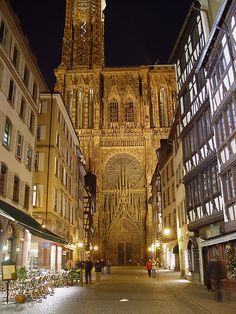 Strasbourg Cathedral - UNESCO World Heritage Site, France