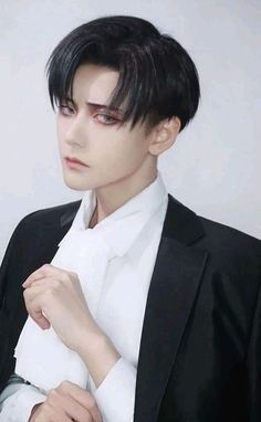 Levi Cosplay, Cosplay Anime, Naruto Cosplay, Cosplay Makeup, Anime Neko, Kawaii Anime, Anime Guys, Attack On Titan Funny, Attack On Titan Anime