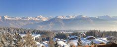 LeCrans Hotel & Spa - Crans-Montana - Swiss Deluxe Hotels #Switzerland #view #Alpes Hotel Spa, Stunning View, Switzerland, Montana, Mount Everest, Nature, Travel, Flathead Lake Montana, Naturaleza