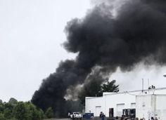 1 dead after medical helicopter crash in a Delaware industrial park.