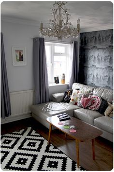 Living room with a corner to read a book, watch your favorite TV program or simply relax with Meowy and Woofy.