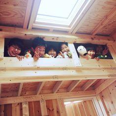 LOFT/ロフト/DIY/子供部屋/壁/天井のインテリア実例 - 2015-01-13 16:14:43   RoomClip(ルームクリップ)