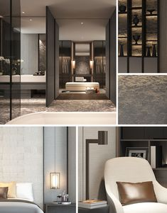 SCDA Mixed-Use Development Sanya, China- Show Villa (Type 2) Master Bath & Master Suite