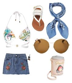 """""""Coachella 2"""" by ella1966666 on Polyvore featuring River Island, Manipuri, Betsey Johnson and Givenchy"""