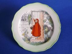 Royal Doulton 'Little Red Riding Hood' Plate D3576 c1915