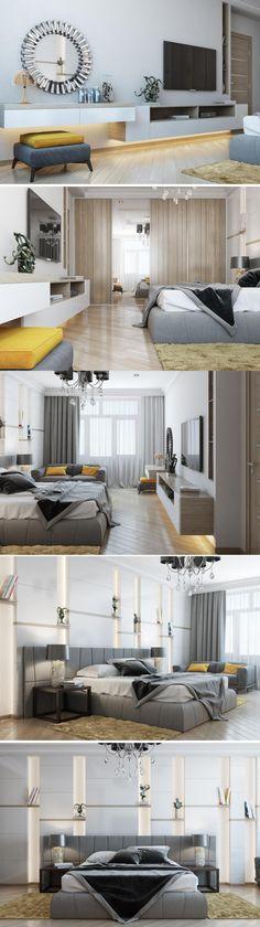Дизайн интерьера спальни.  #дизайн  #интерьера  #спальня  #дом  #квартира  #коттедж