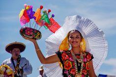 tehuana | Trajes típicos de México: Tehuana