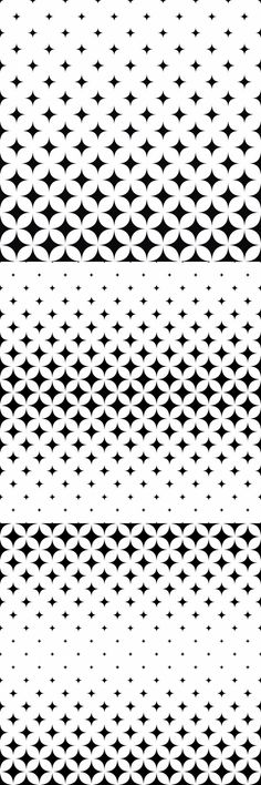 15 monochrome vector curved star pattern backgrounds