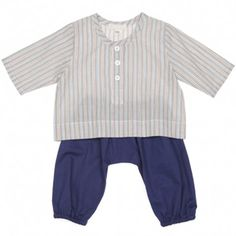 baby ensemble (blue)