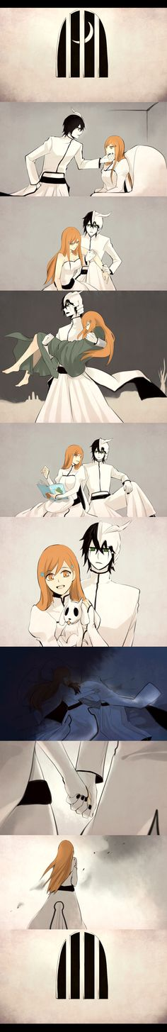 Tags: Anime, BLEACH, Inoue Orihime, Ulquiorra Schiffer, Comic
