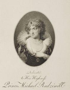 Helena Radziwiłł née Przeździecka by Carl Gröll in London after Giuseppe Maria Grassi, 1795 (PD-art/old), Muzeum Narodowe w Krakowie (MNK)