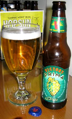 """@victorybeer Prima Pils. Came SO close to dubbing this one """"highly recommended"""" #craftbeer #yum"""