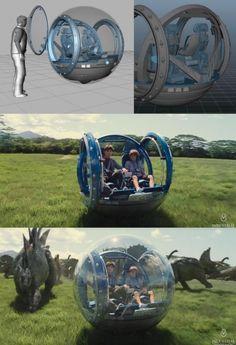 Los efectos visuales de Jurassic World