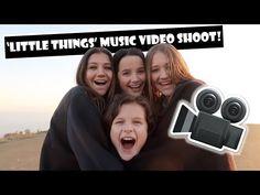 Little Things Music Video Shoot (WK 374) | Bratayley - YouTube
