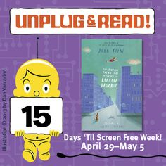 Screen Free Week is just around the corner! Unplug & Read THE TERRIBLE THING THAT HAPPENED TO BARNABY BROCKET by John Boyne. Click for a review!