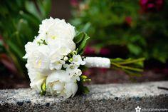 White bouquet. Wedding Bouquet Mania! | Sakura Photography | Vancouver Weddings