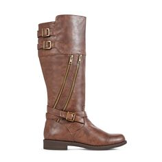 tall boots with zippers
