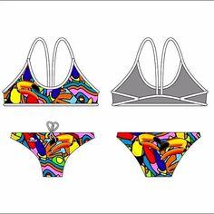 Costume bikini donna Turbo Tucan