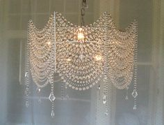 Incredible Diy Crystal Chandelier