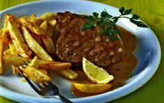 Συνταγή για νουά λεμονάτο παραδοσιακό. Κρέας νουά κατσαρόλας με πατάτες