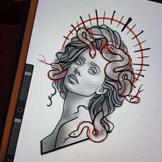 Angels Demons Hand Drawn Tattoos - Angels Demons Hand Drawn Tattoos You are in the right place about Angels Demons Hand Drawn Tattoos T - Tattoo Sketches, Tattoo Drawings, Body Art Tattoos, Hand Tattoos, Art Sketches, Small Tattoos, Art Drawings, Tatoos, Medusa Tattoo Design
