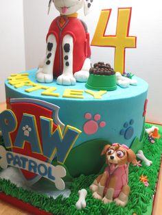 PAW PATROL Birthday Cake | Byrdie Girl Custom Cakes