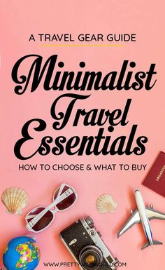 Backpacking Minimalist: How to Travel with Less (Minimalist Travel) Planning to travel but don't want to over pack? Check this post out and learn about the minimalist travel essentials to help you pack light for your next trip abroad! Travel Advice, Travel Guides, Travel Tips, Travel Hacks, Travel Destinations, Fun Travel, Travel Gadgets, Travel Info, Cheap Travel