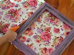 How to Make a Fabric-Covered Bulletin Board | how-tos | DIY